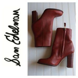 Sam Edelman Reyes Rust Boots